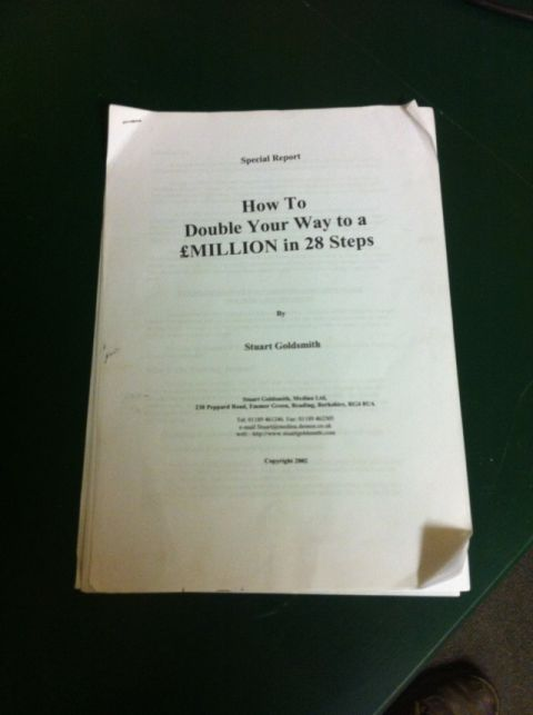 28 steps to £1million report