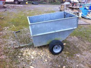 small garden trailer