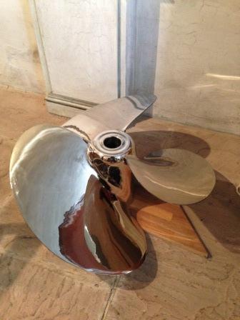 Polished Propeller